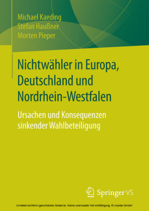 Nichtwähler in Europa, Deutschland und Nordrhein-Westfalen