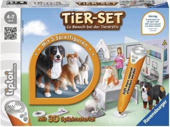 Tier-Set Zu Besuch bei der Tierärztin (Spiel-Zubehör)