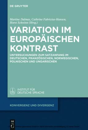 Variation im europäischen Kontrast