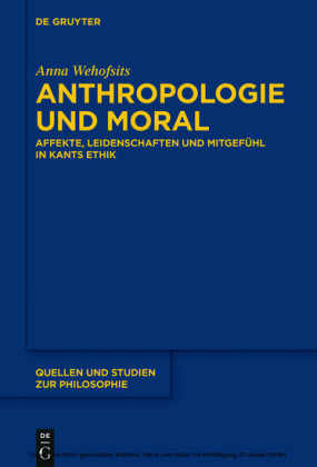 Anthropologie und Moral