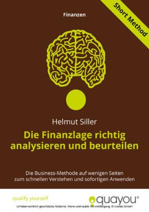Die Finanzlage richtig analysieren und beurteilen