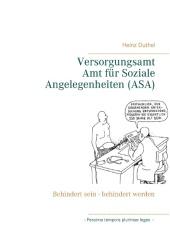 Versorgungsamt - Amt f�r Soziale Angelegenheiten (ASA)