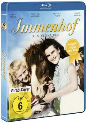 Immenhof - Die 5 Originalfilme, 2 Blu-rays (Komplettbox Remastered)