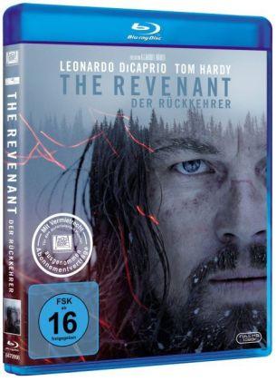 The Revenant - Der Rückkehrer, 1 Blu-ray + Digital HD UV