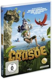 Robinson Crusoe (2015), 1 DVD Cover