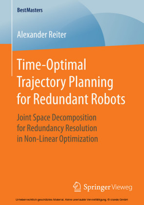 Time-Optimal Trajectory Planning for Redundant Robots