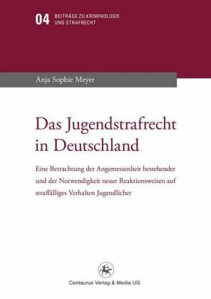Das Jugendstrafrecht in Deutschland