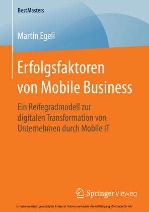 Erfolgsfaktoren von Mobile Business