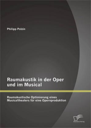 Raumakustik in der Oper und im Musical: Raumakustische Optimierung eines Musicaltheaters für eine Opernproduktion