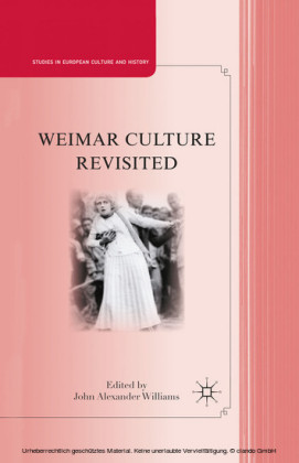 Weimar Culture Revisited