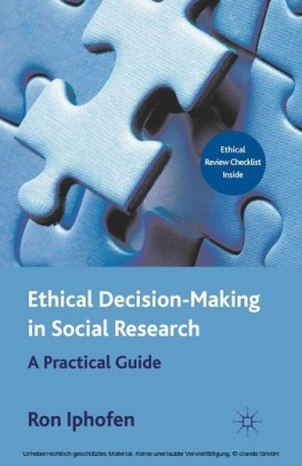 Ethical Decision Making in Social Research