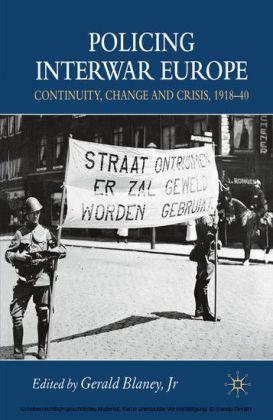 Policing Interwar Europe