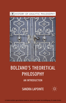 Bolzano's Theoretical Philosophy