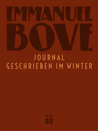 Journal - geschrieben im Winter