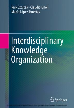Interdisciplinary Knowledge Organization