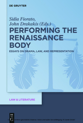 Performing the Renaissance Body