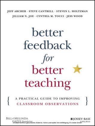 Better Feedback for Better Teaching