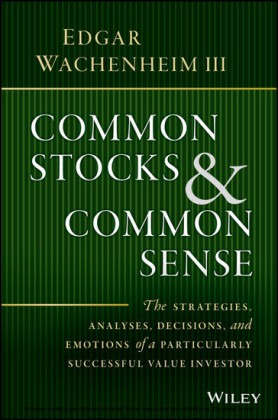 Common Stocks and Common Sense