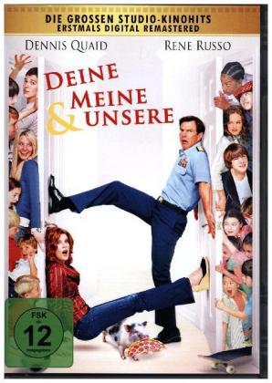 Deine, meine & unsere, 1 DVD