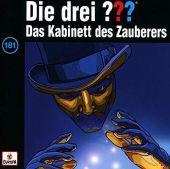 Die drei ??? - Das Kabinett des Zauberers, 1 Audio-CD Cover