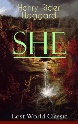 SHE (Lost World Classic)