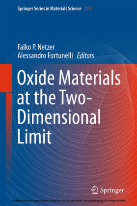 Oxide Materials at the Two-Dimensional Limit