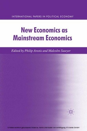 New Economics as Mainstream Economics