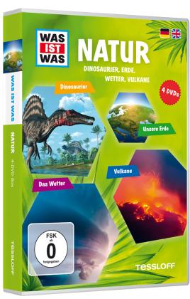 Natur, 4 DVDs