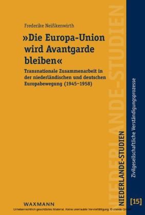 'Die Europa-Union wird Avantgarde bleiben'