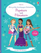 Mein großes Anziehpuppen-Stickerbuch: Popstars und Filmstars