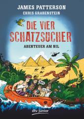 Die vier Schatzsucher - Abenteuer am Nil Cover