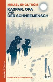 Kaspar, Opa und der Schneemensch Cover