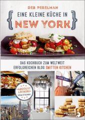 Eine kleine Küche in New York