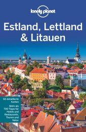 Lonely Planet Reiseführer Estland, Lettland, Litauen Cover