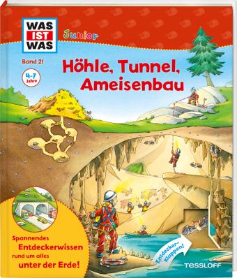 Höhle, Tunnel, Ameisenbau