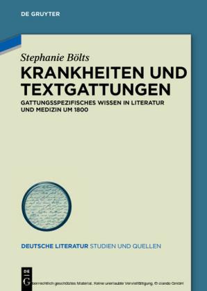 Krankheiten und Textgattungen