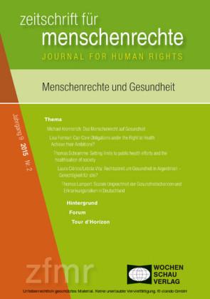 Menschenrechte und Gesundheit