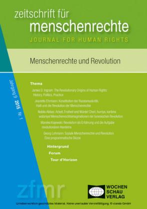 Menschenrechte und Revolution