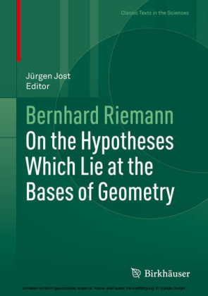 On the Hypotheses Which Lie at the Bases of Geometry