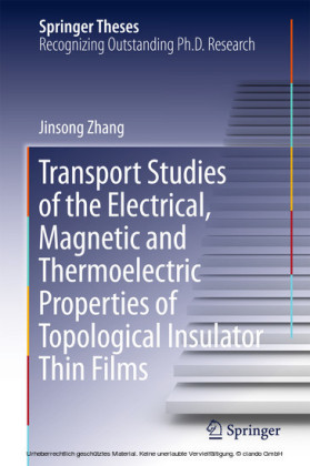 Transport Studies of the Electrical, Magnetic and Thermoelectric properties of Topological Insulator Thin Films