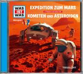 Expedition zum Mars / Kometen und Asteroiden, 1 Audio-CD Cover