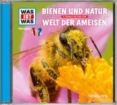 Bienen und Natur / Welt der Ameisen, 1 Audio-CD Cover