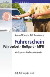 Führerschein Fahrverbot - Bußgeld - MPU