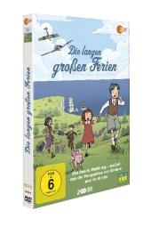 Die langen großen Ferien, 2 DVD Cover