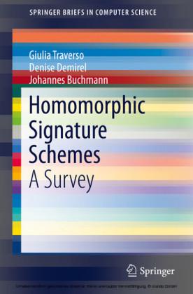 Homomorphic Signature Schemes