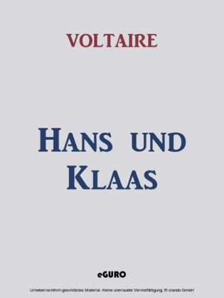 Hans und Klaas