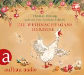 Die Weihnachtsgans Hermine, 1 Audio-CD Cover