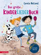 Das große Kinderliederbuch, m. 1 Audio-CD Cover