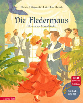 Die Fledermaus, m. 1 Audio-CD