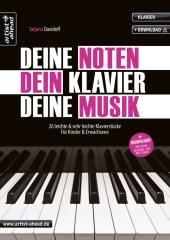 Deine Noten, Dein Klavier, Deine Musik, m. Audio-CD Cover